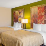 Quality Inn & Suites Laurel two double beds guest room